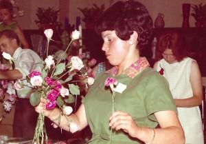 Brigitte Fischer bei der Silbernen Rose_