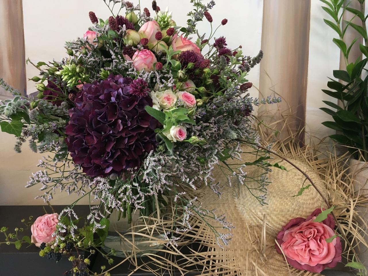 2018 BLuMEN RAMPP Sommermesse Blumenstrauß
