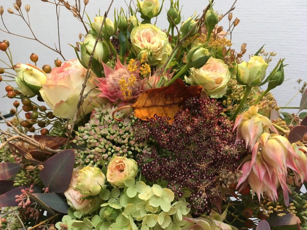 2018 BLUMEN RAMPP Herbstbluete Raumdeko